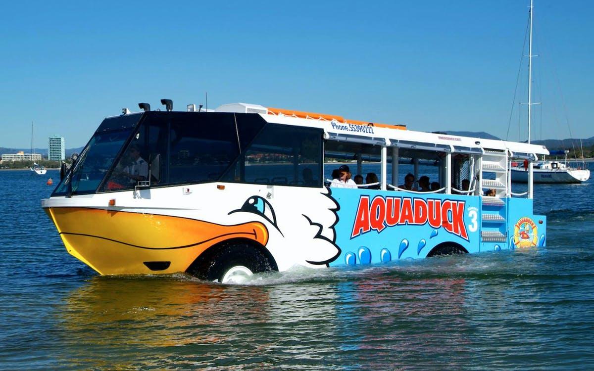 aquaduck tour and southern cross mount tamborine tour combo-0