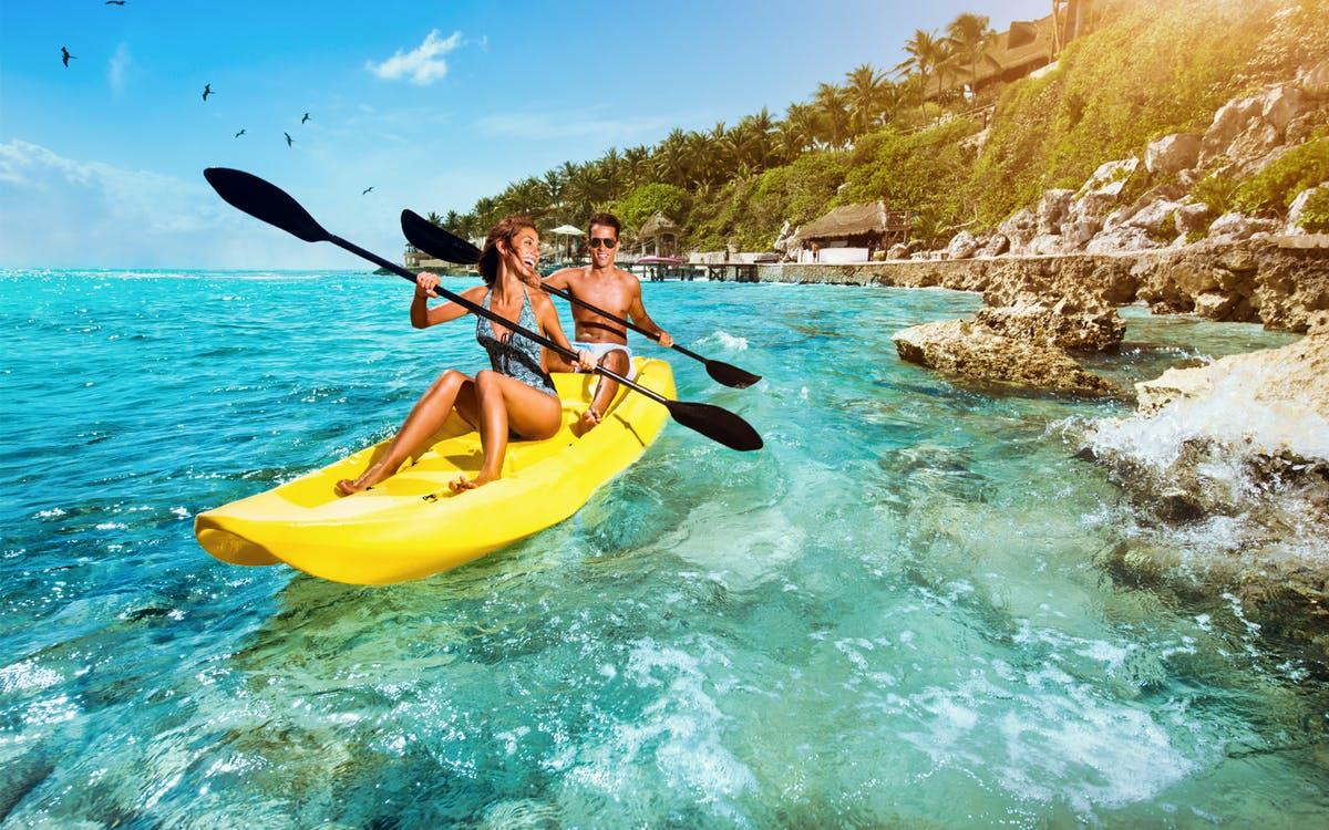 isla mujeres: dolphin swim adventure with optional royal garrafón reef park-0