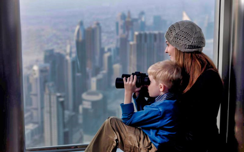 burj khalifa: at the top sky with coffee & introductory tour (level 124 & 148)-0