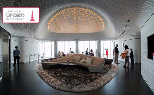 Burj Khalifa: At the Top Sky with Coffee & Introductory Tour (Level 124, 125 & 148)