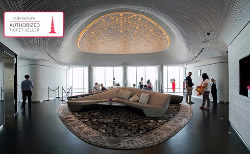 Burj Khalifa: At the Top Sky com Café & Tour Introdutório (Andares 124, 125 & 148)