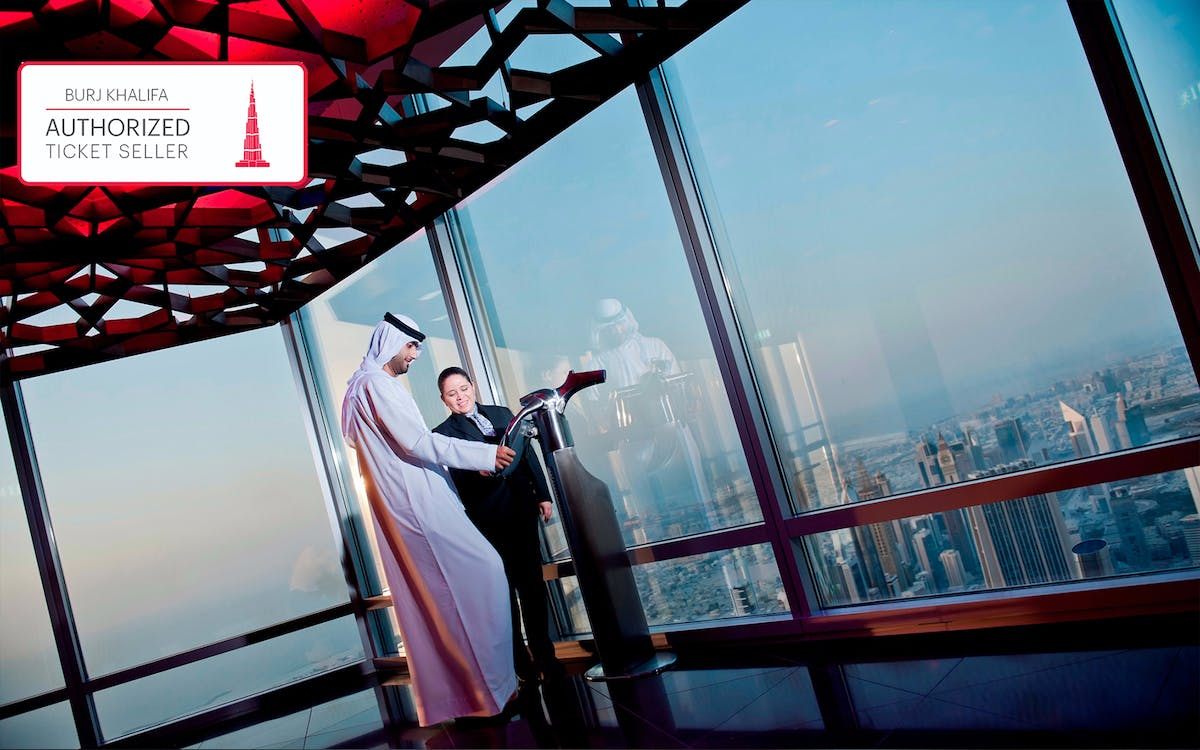 burj khalifa: at the top sky with coffee & introductory tour (level 124 & 148)-2