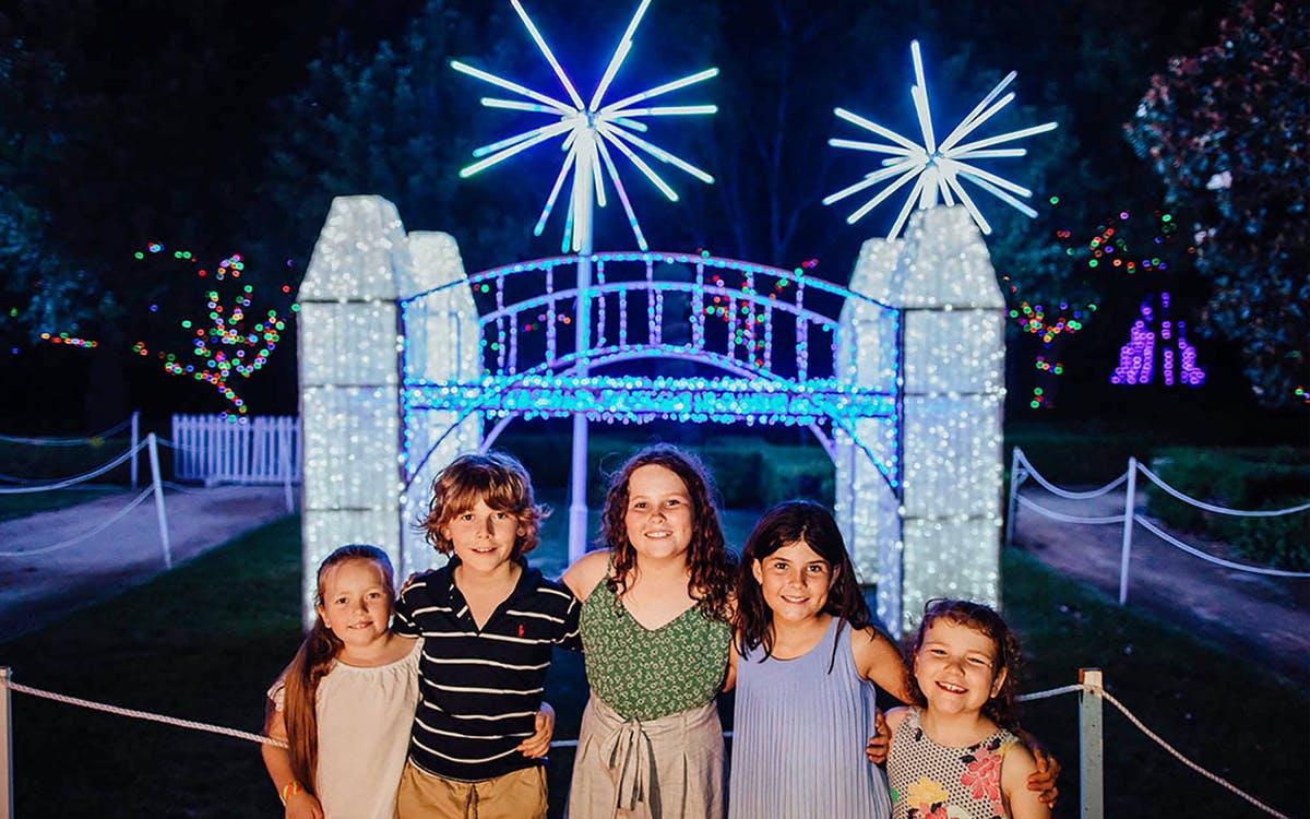 hunter valley gardens - christmas lights spectacular-0