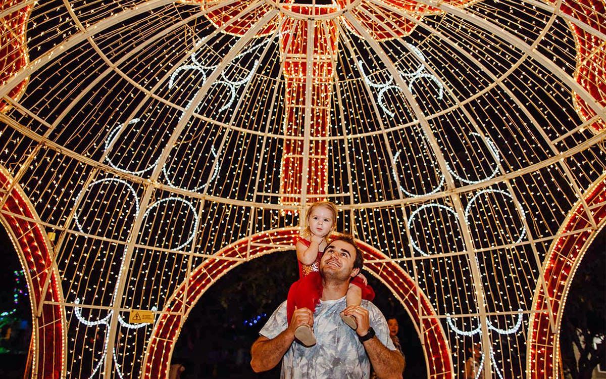 hunter valley gardens - christmas lights spectacular-1