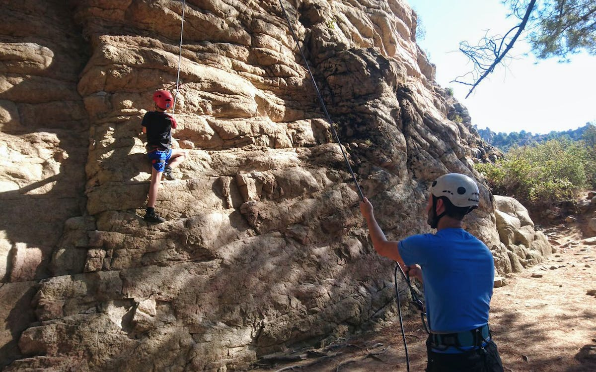 guadarrama national park rock climbing in madrid with transfers-0