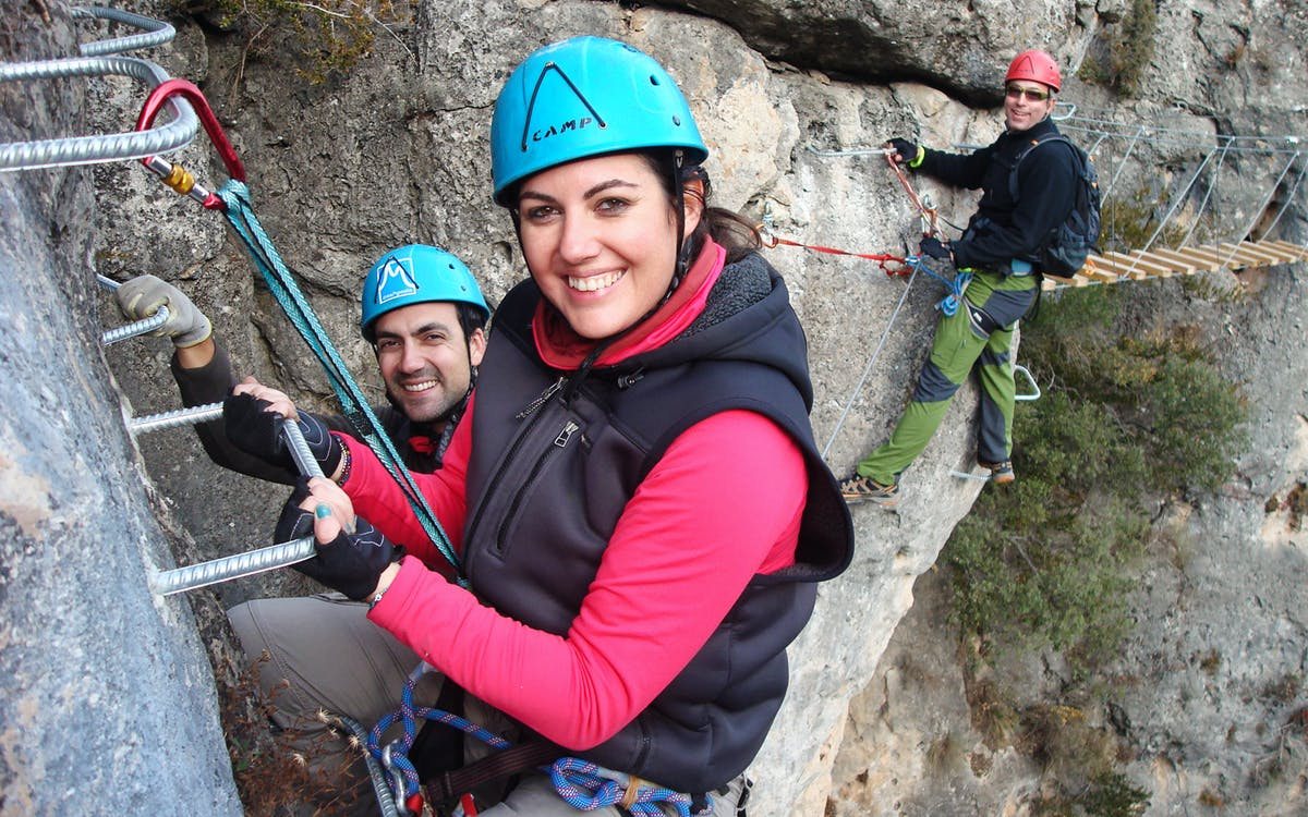 via ferrata boca del infierno climb in madrid with transfers-1