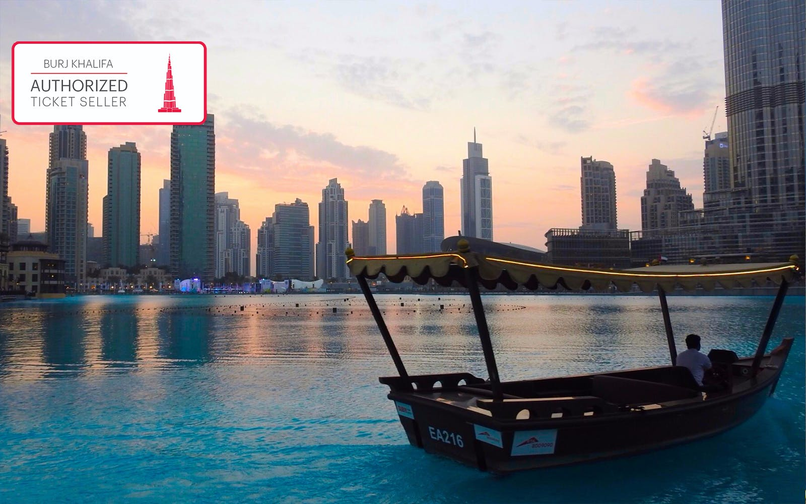 dubai fountain show & traditional abra lake ride-3
