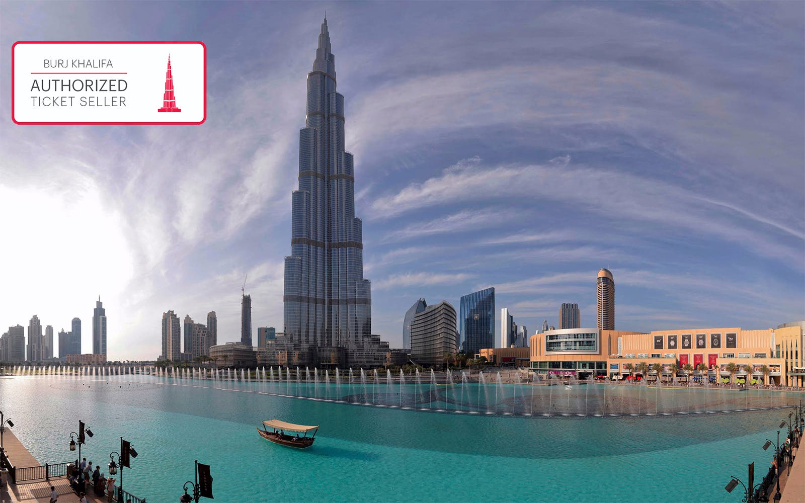 Dubai Fountain Show & Traditional Abra Lake Ride