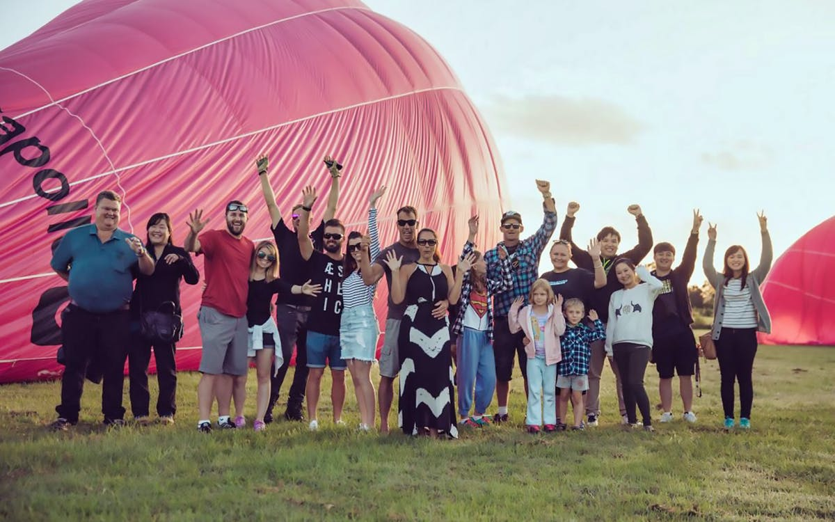 60 mins - go ballooning hot air balloon ride with optional breakfast-1