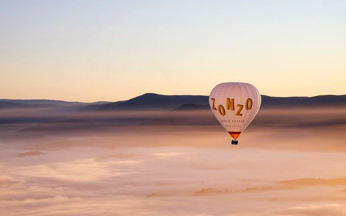 yarra valley sunrise hot air balloon flight-0