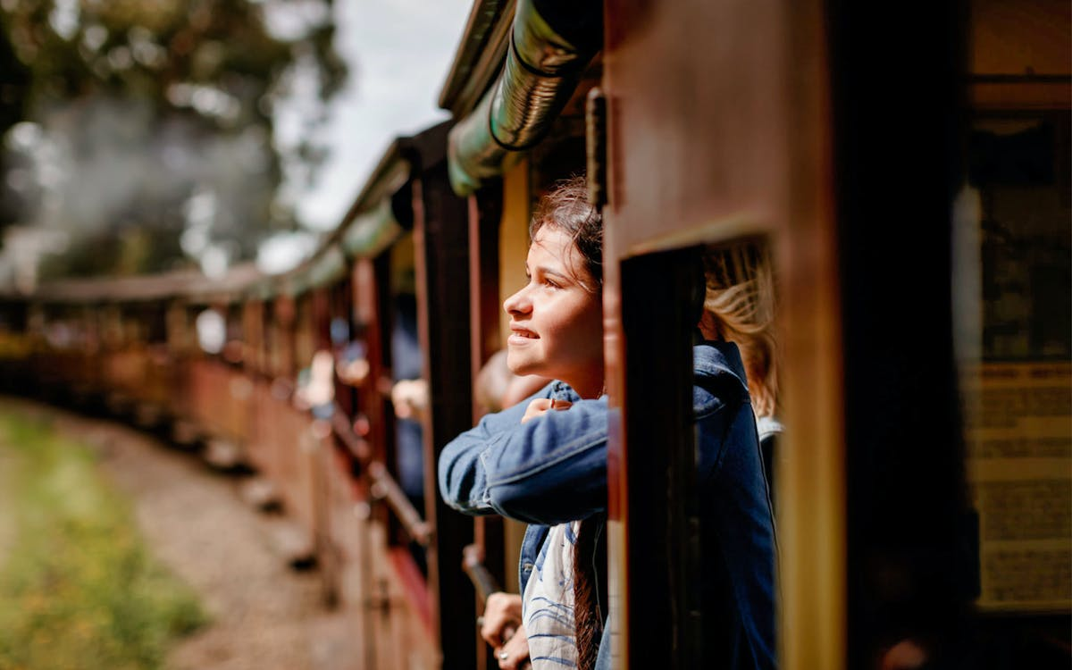 puffing billy railway belgrave to lakeside return tickets-0
