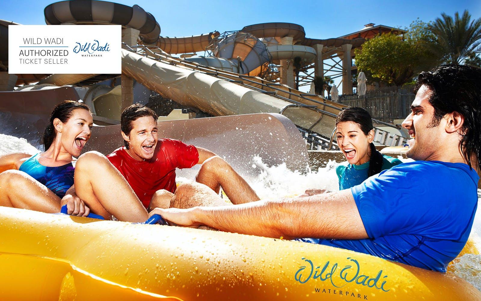 Water Parks in Dubai - Wild Wadi tickets