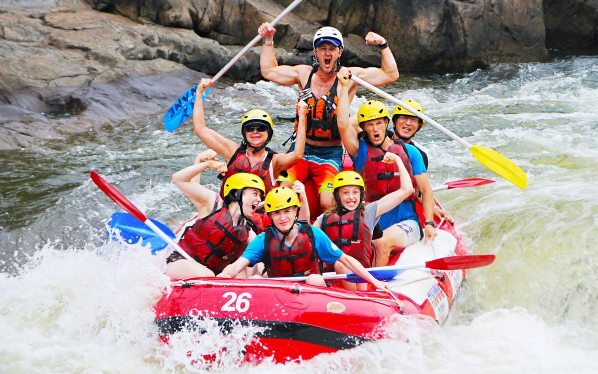 barron river rafting half day tour-1