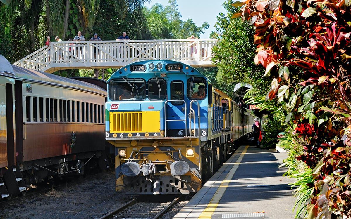 kuranda scenic railway heritage class-0