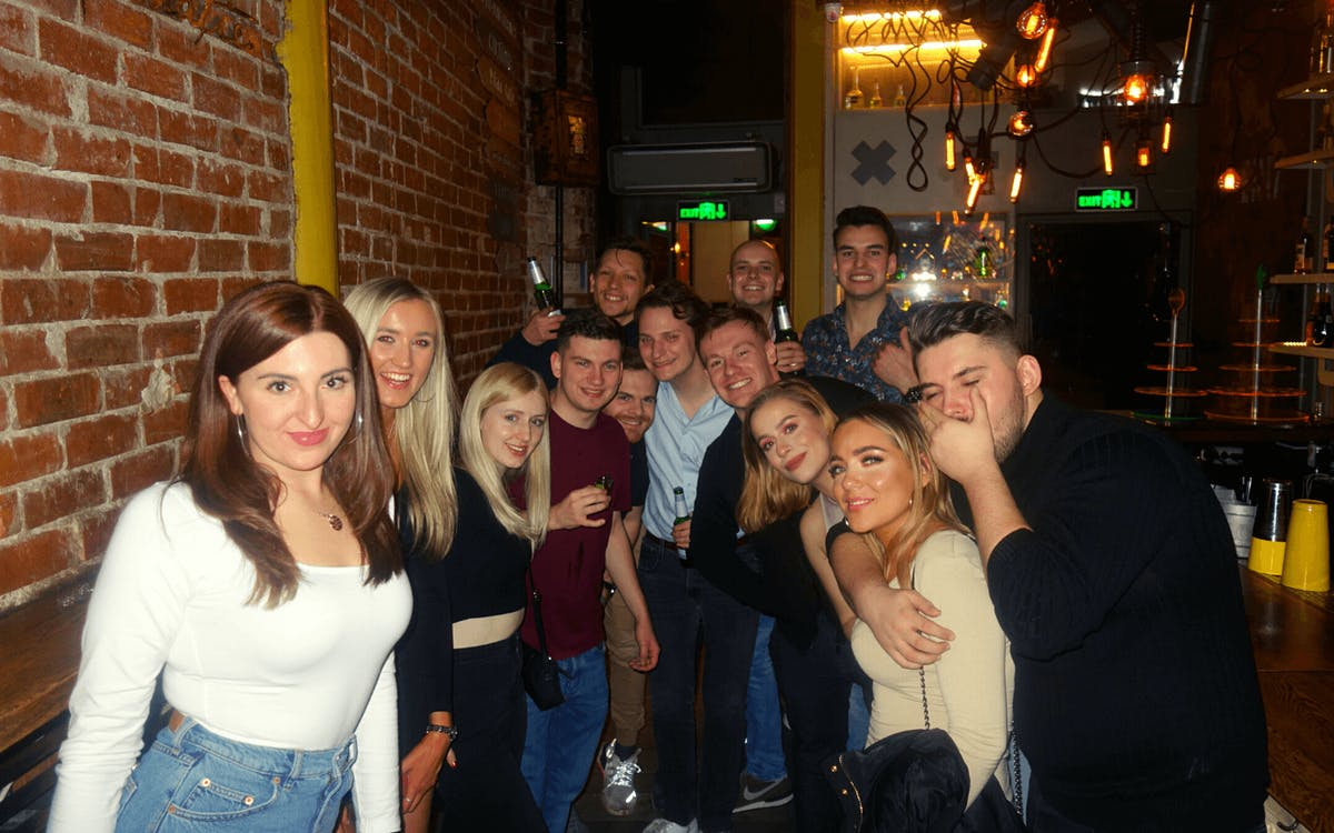 small group bar crawl and sightseeing in bucharest-0