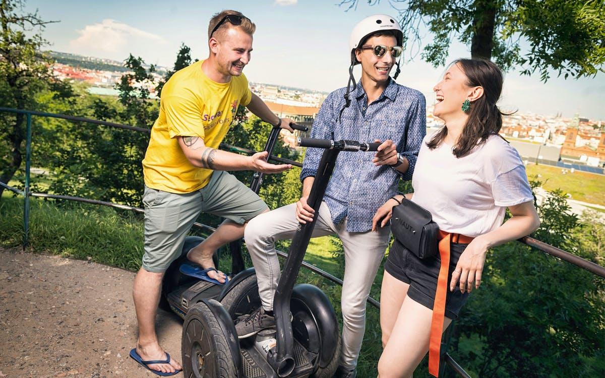 3-hour combo segway & e-scooter tour-0