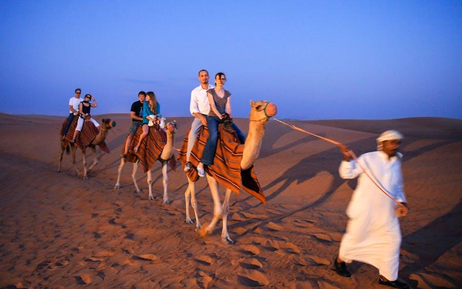 red dune desert safari with bbq dinner & live entertainment-1