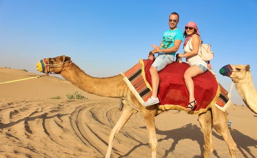 Red Dune Desert Safari with BBQ Dinner & Live Entertainment