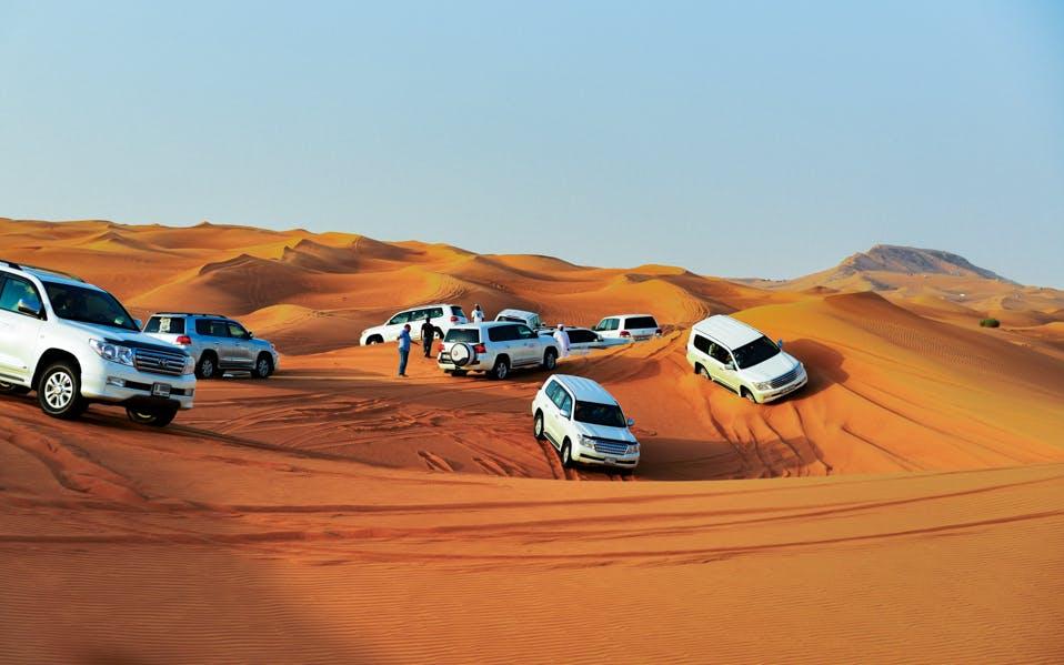 red dune desert safari with bbq dinner & live entertainment-0