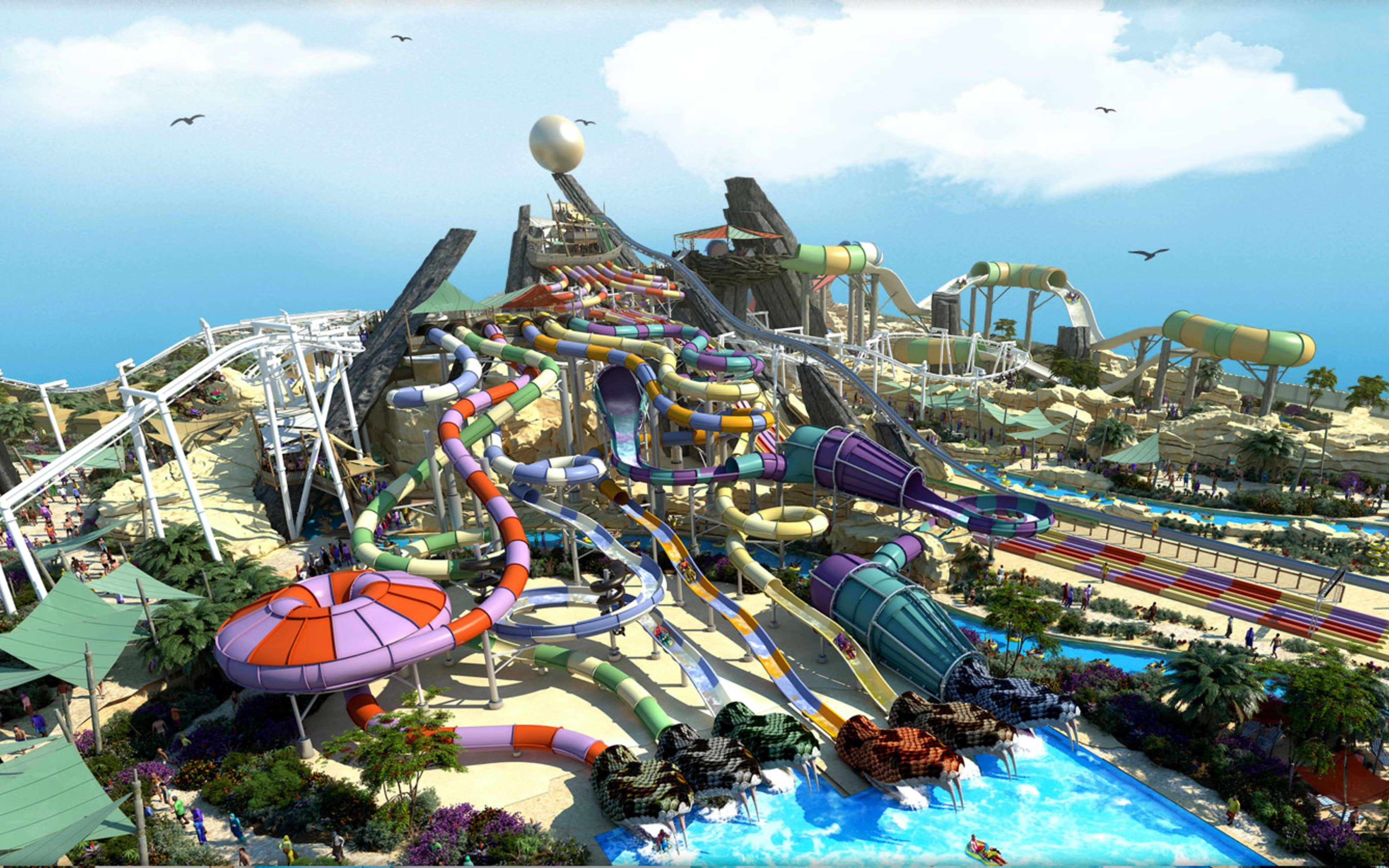 best-water-parks-in-dubai-aquaventure-water-park