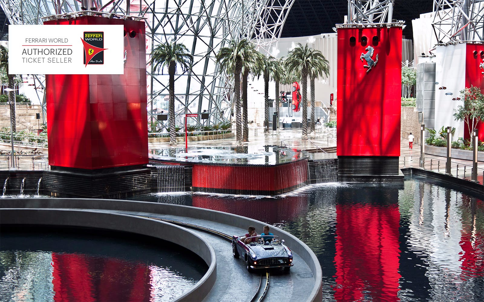 Ferrari World Tickets With Transfers