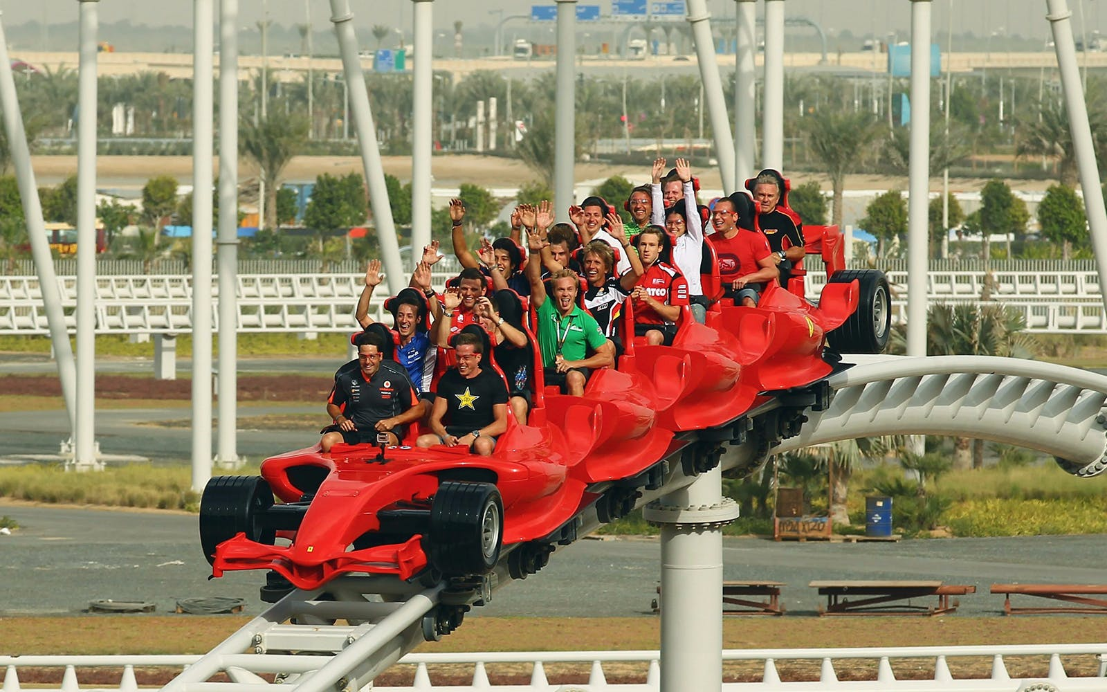 ferrari world and yas waterworld one day pass with transfers-3
