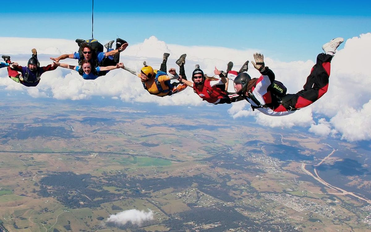 hunter valley tandem skydive tickets: 15,000ft-1