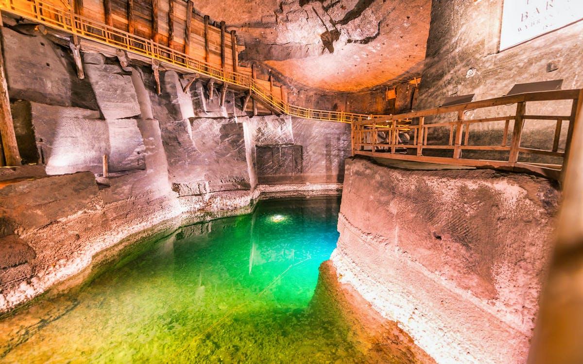 from krakow: wieliczka salt mine guided tour with hotel transfers-0