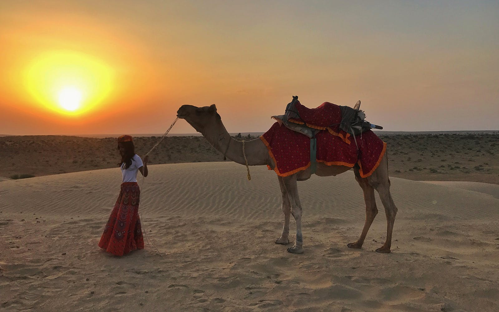 morning camel safari-3