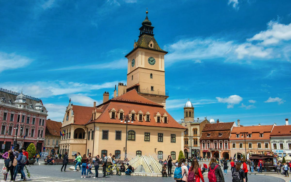 shared group tour of bran castle and peles castle - 12 hours-0