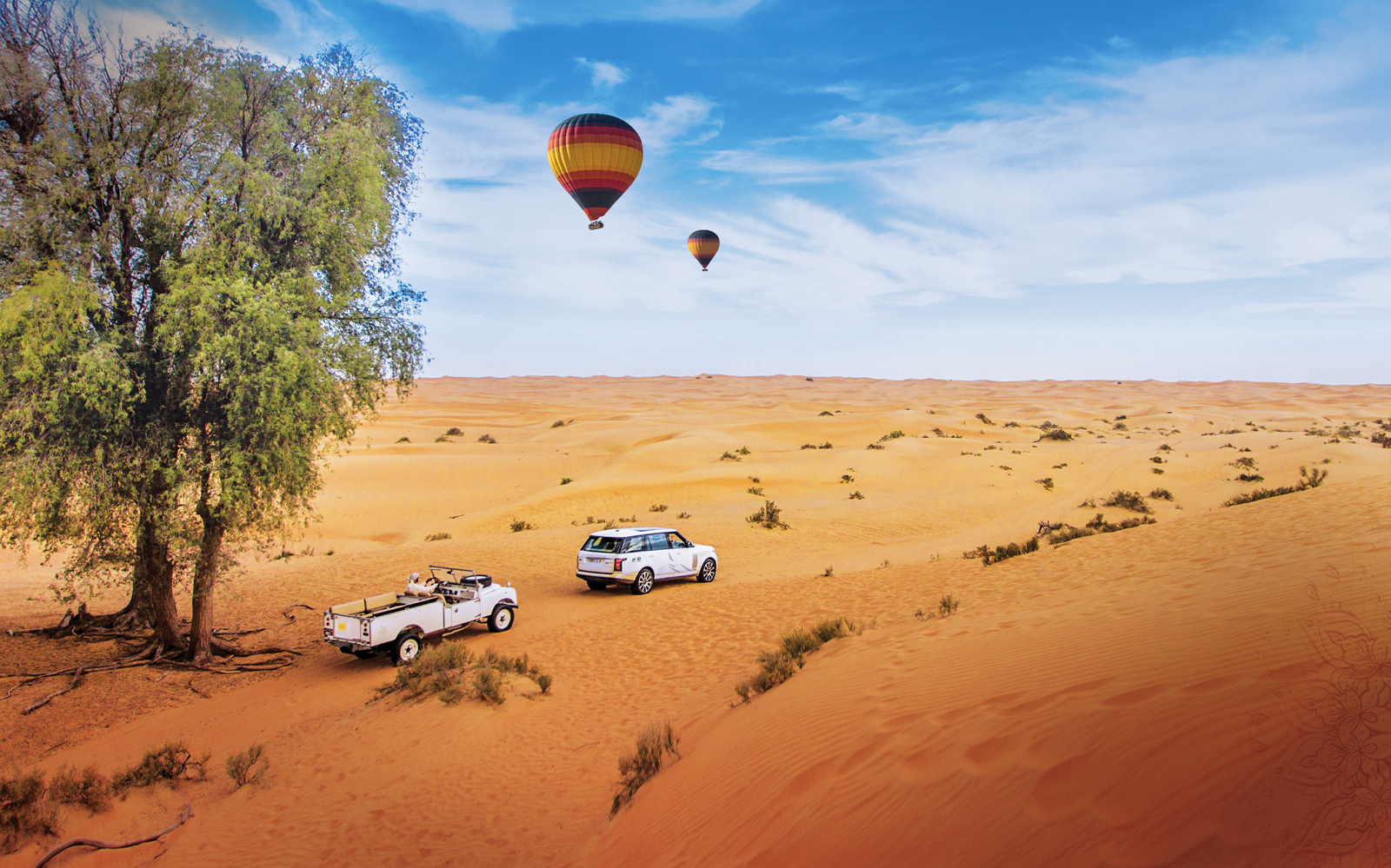 Soar Above The Desert With These Amazing Hot Air Balloon Rides In Dubai