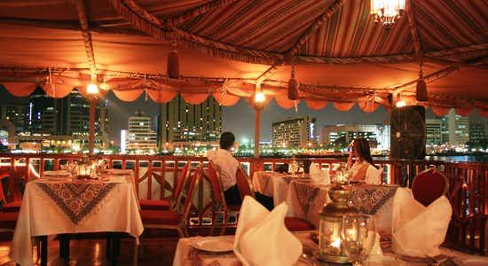 Dubai Dhow Cruise - Dubai Marina Dinner Cruise