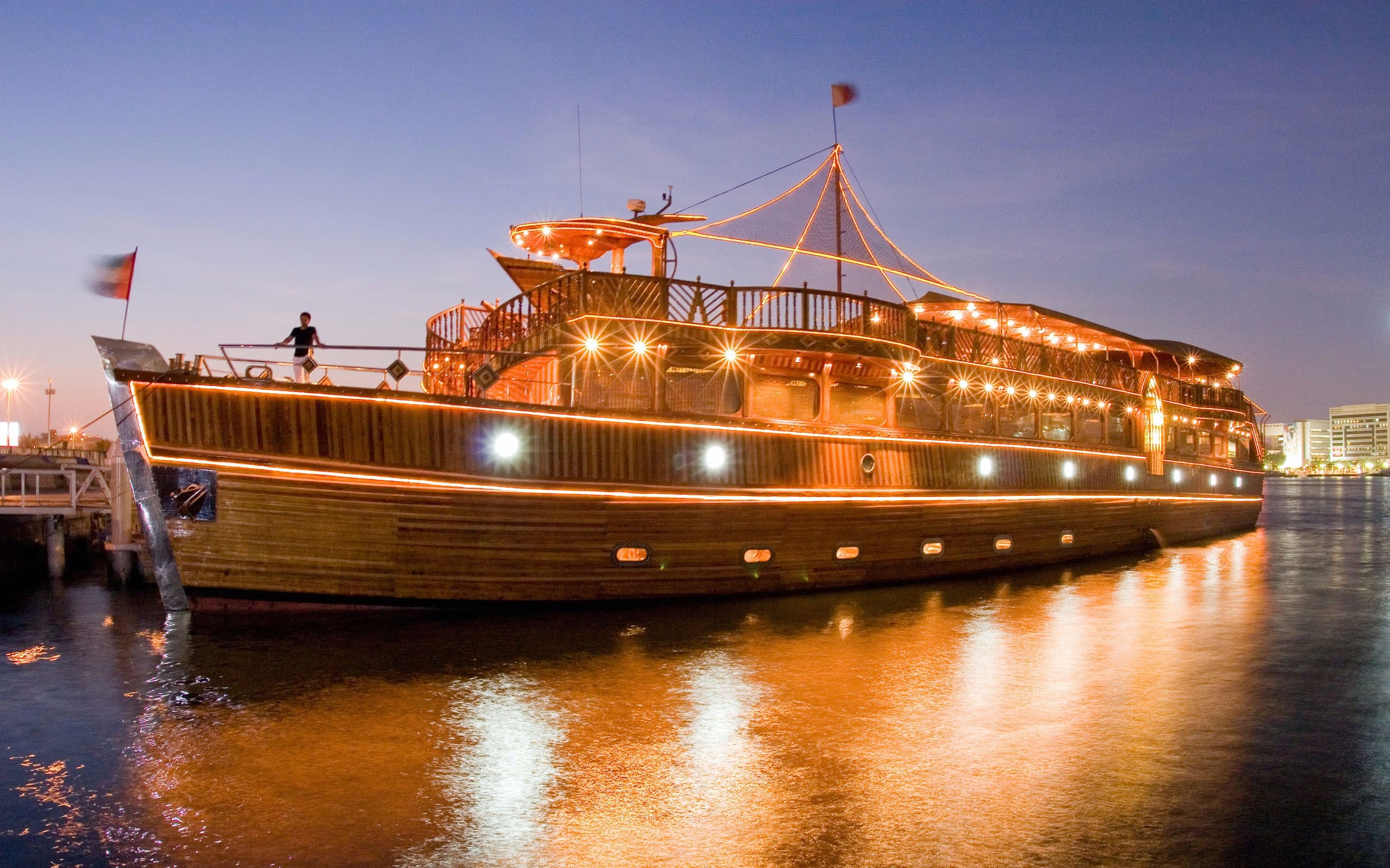 Premium Dhow Dinner Cruise (with Alcohol Options)