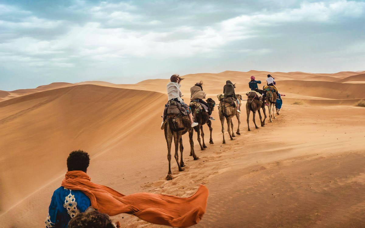 private camel ride tour in agafay desert with lunch-0