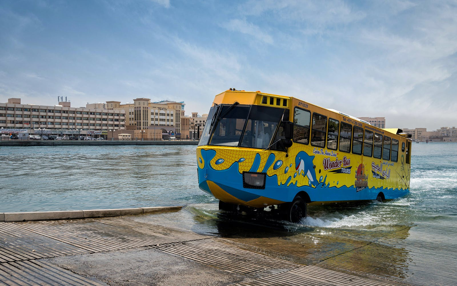 Dubai Wonderbus Tour - Sea & Land Adventure
