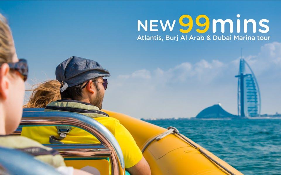 the yellow boats: 99 minute premium marina boat tour-1