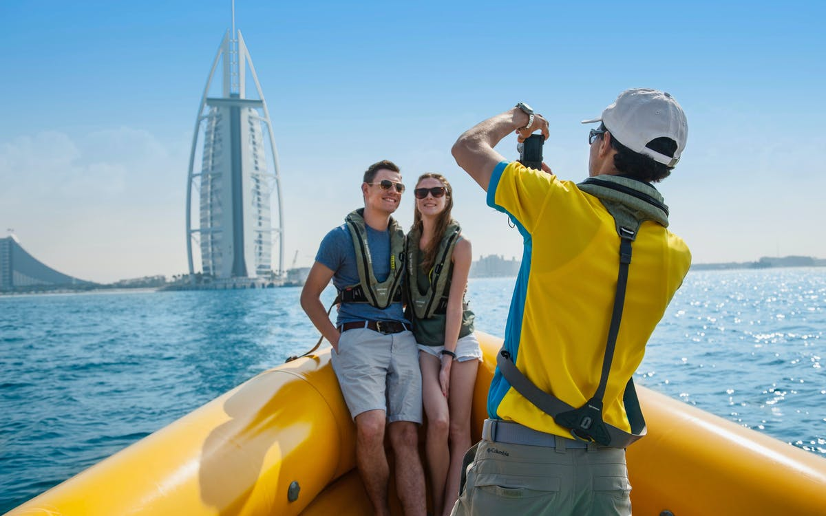 the yellow boats: 99 minute premium marina boat tour-1