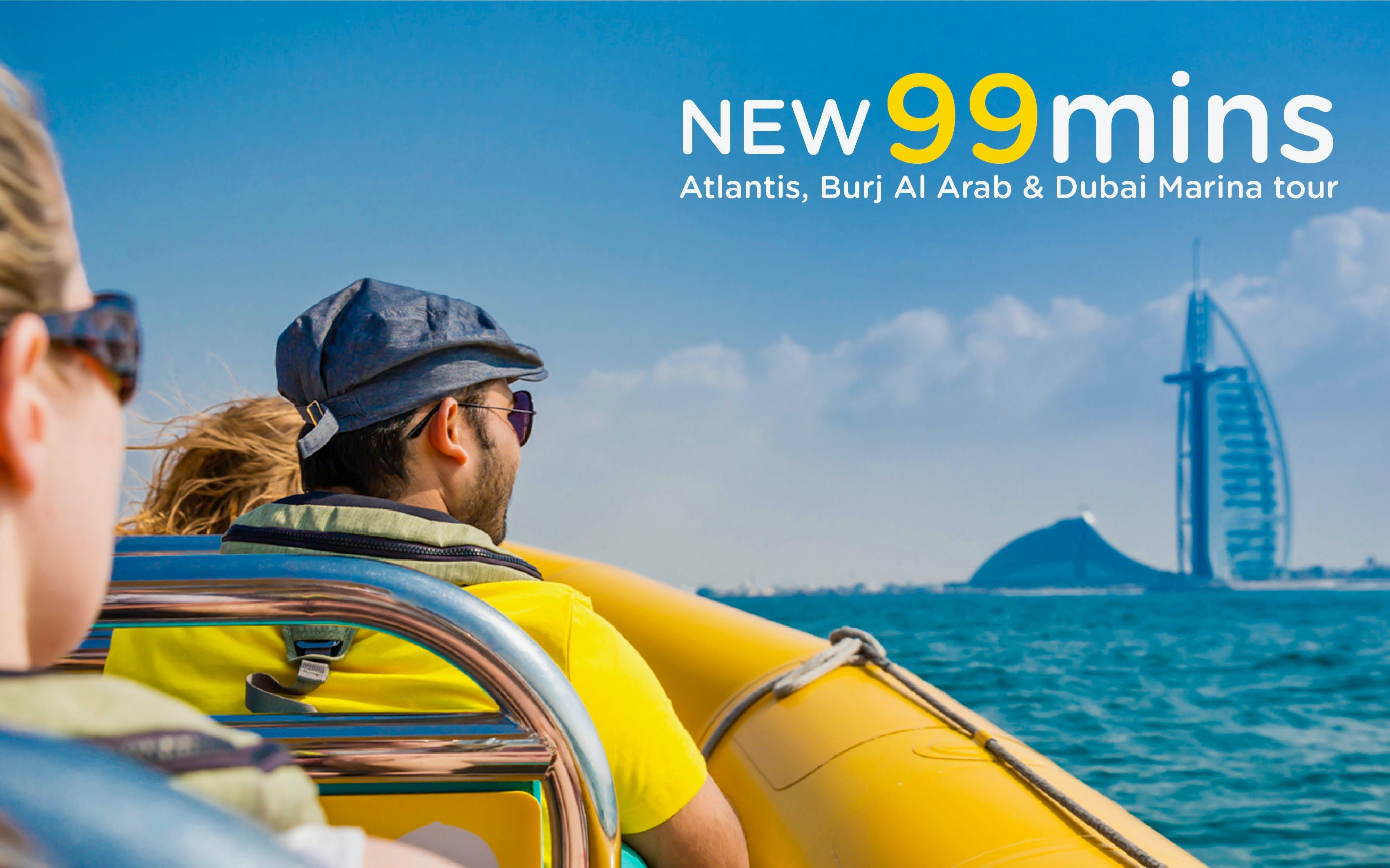 99 Minutes, The Original Tour of Dubai Marina, Palm Jumeirah & Burj Al Arab