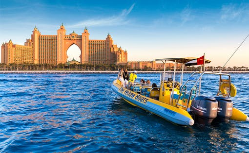 The Yellow Boats: 75 Minutes Atlantis Boat Tour