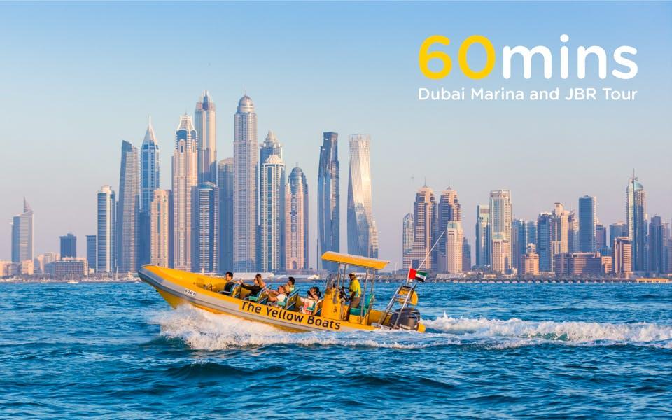 the yellow boats: 60 minutes marina cruise-0