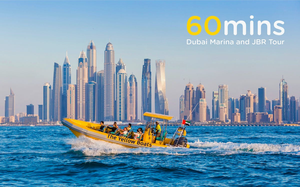 the yellow boats: 60 minutes marina boat tour-1