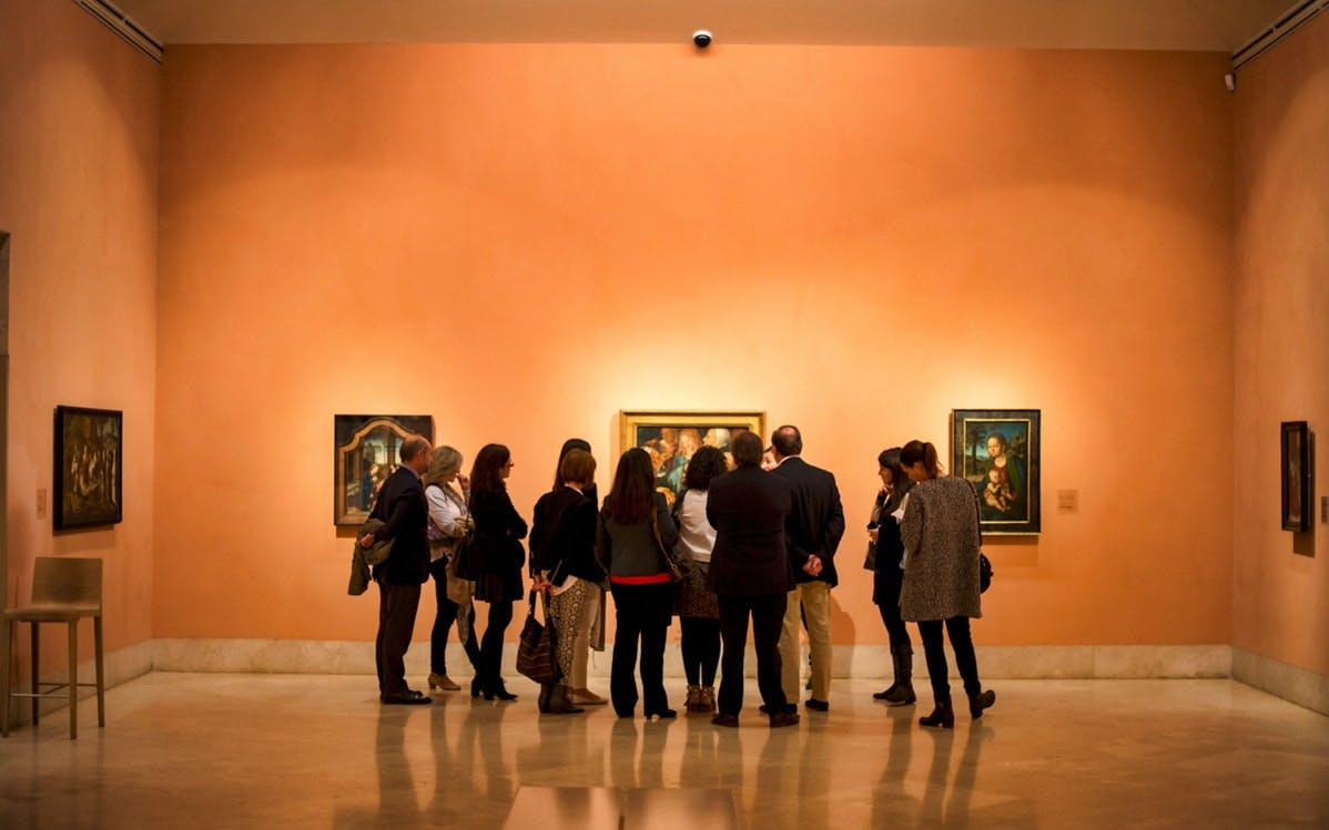 full access with traditional meal tickets to thyssen-bornemisza museum-0