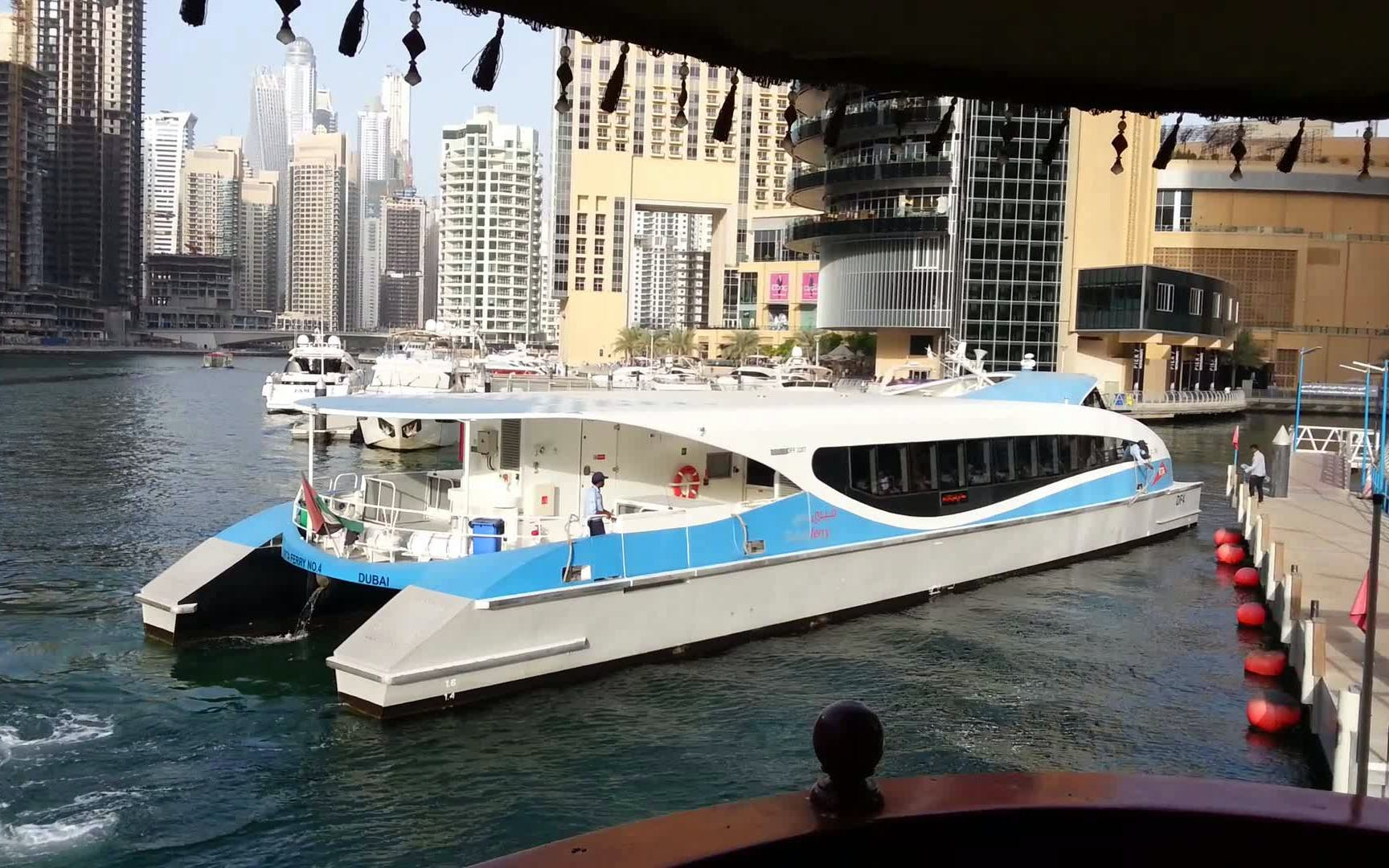 classic dubai land & sea evening tour-5