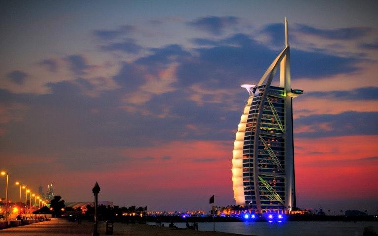 City Walk Dubai Nearby Attractions - Burj Al Arab