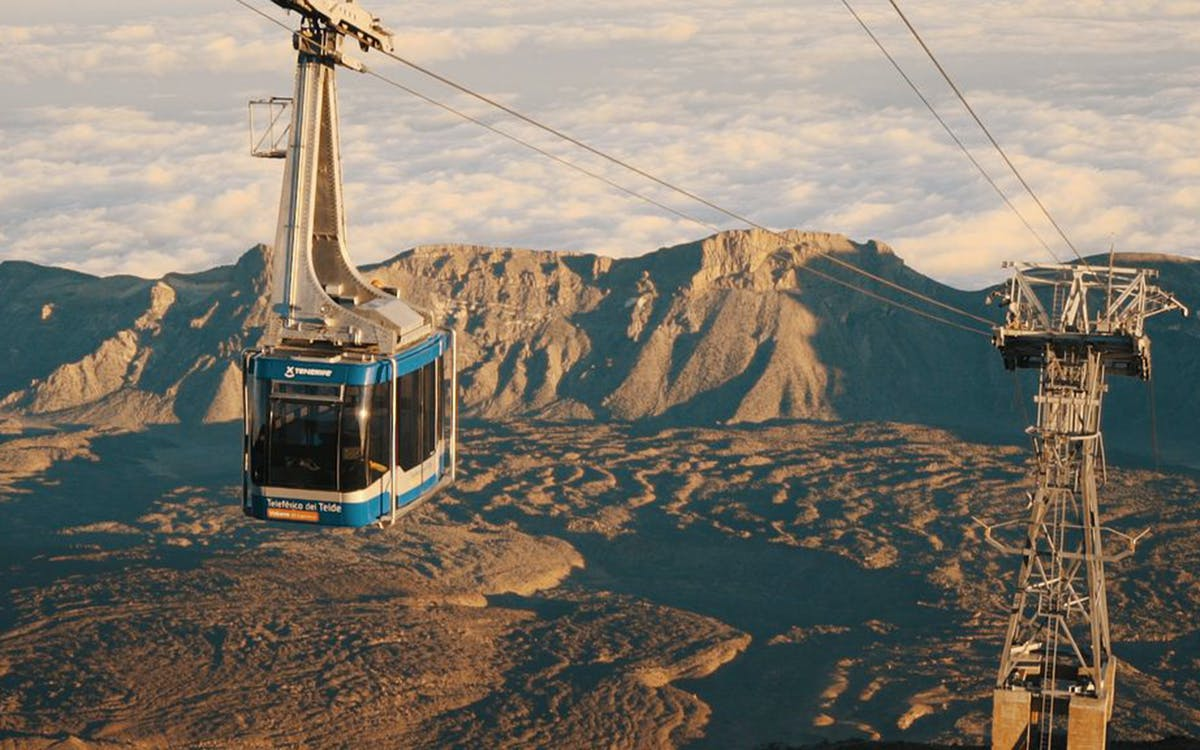 mount teide : guided tour with cable car tickets -0