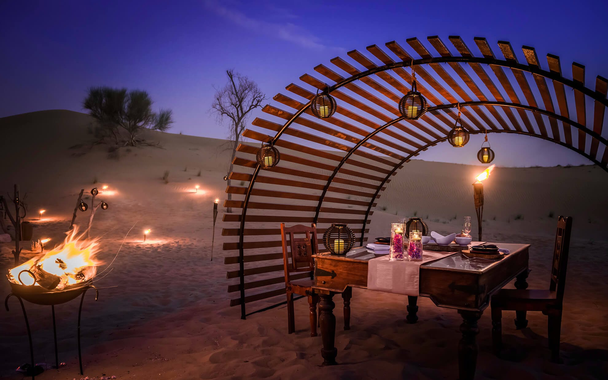 Romantic Dinner Desert Safari
