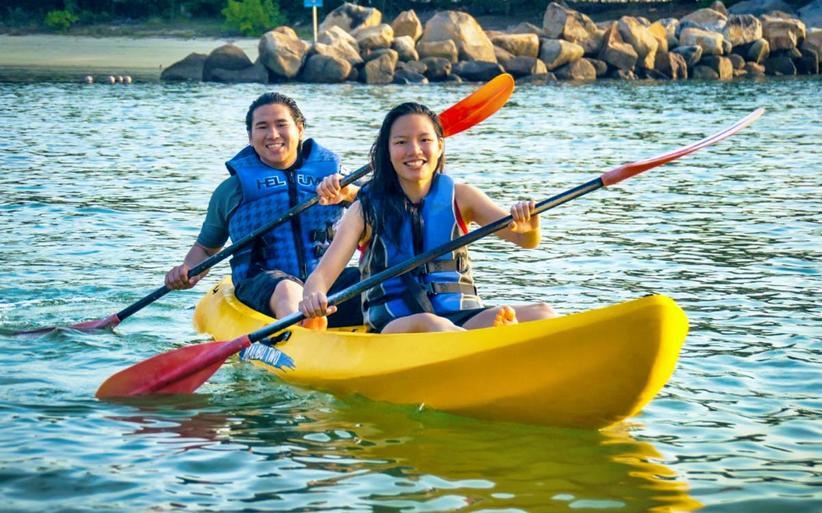 ola beach club water activities - kayak-1
