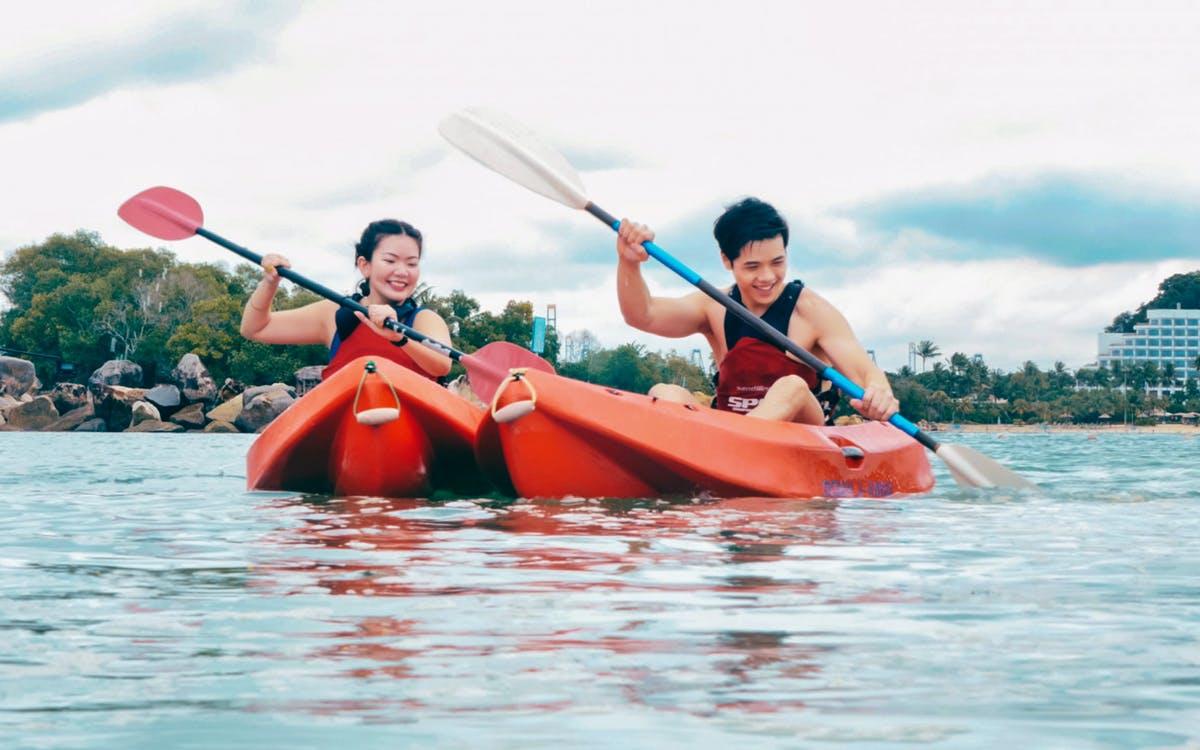 ola beach club water activities - kayak-0