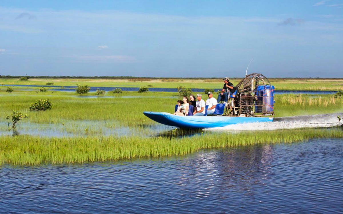 30 mins everglades airboat tour & wildlife show-0