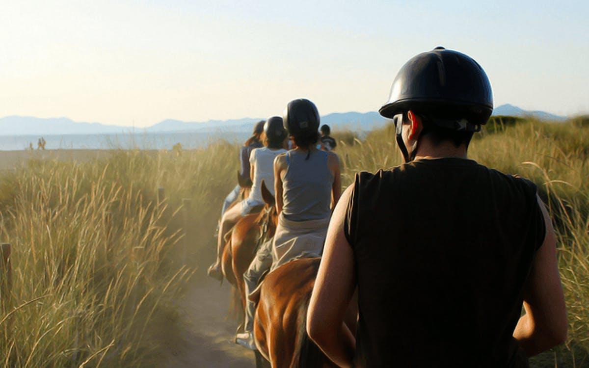 horse riding on the beach in mallorca-0